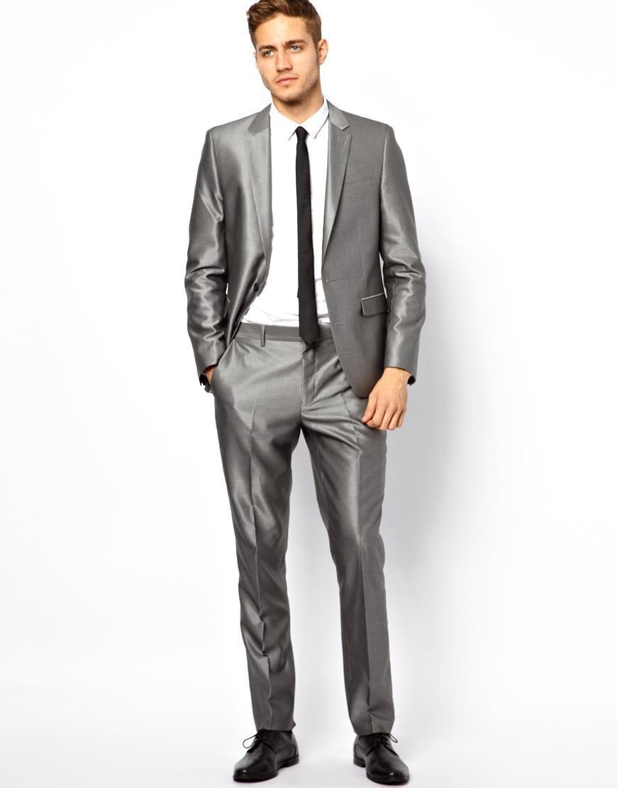 Aliexpress.com : Buy New Arrival tuxedos for men silver gray