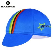 ROCKBROS  Mens Race Bike Multicolor Free Size Riding Cap Cycling Headband Bicycle Helmet Wear Equipment Hat