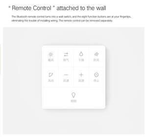 Image 5 - Yeelight calentador de baño inteligente, 8 en 1 LED, luz de techo, calentador, luz de baño para aplicación para hogares, Control remoto para baño