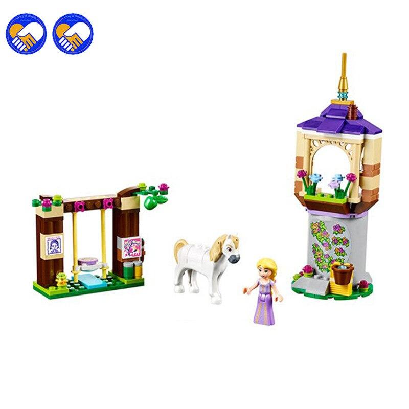 Bela Girls Princess Series Rapunzel Castle Gardens Building Blocks Bricks Toys For Children Legoingly Friends lepin 25004 princess vaiana moana ocean voyage legoingly sets 41149 building nano block diy bricks toys for kids girls