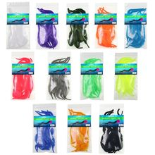 OOTDTY 5 Pcs/pack Hook Binding Wool thread Material Fly Fishing Band Bait Tool 12 Colors