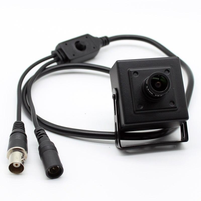 Mini CCTV Camera HD Starlight 0.0001Lux NVP2441 IMX307 4in1 AHD TVI CVI CVBS 2mp Security 1080p