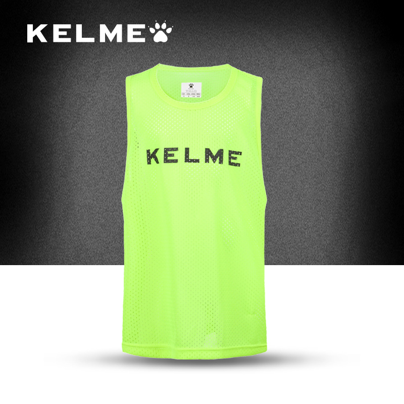 Spain Famous Brands Kelme Football font b team b font jersey mesh Breathable football training jersey