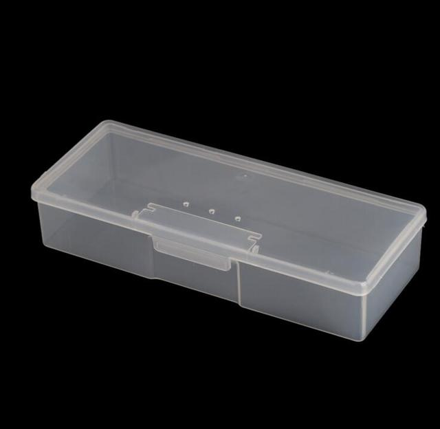 1pc Tattoo Blade needle Storage Box Manual Embroidery Microblading Pen Rectangle Organizer Display Container 3
