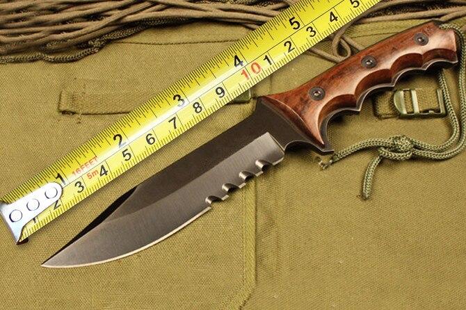 купить SCHF3 Tactical Fixed Knives,5Cr13 Blade Ebony Handle Camping Survival Knife,Hunting Knife. по цене 2868.13 рублей