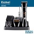 Kemei590A 7-в-1 многофункциональный аккумуляторная Борода Волос Бритва мужская Бритва Триммер Стрижка Комплект