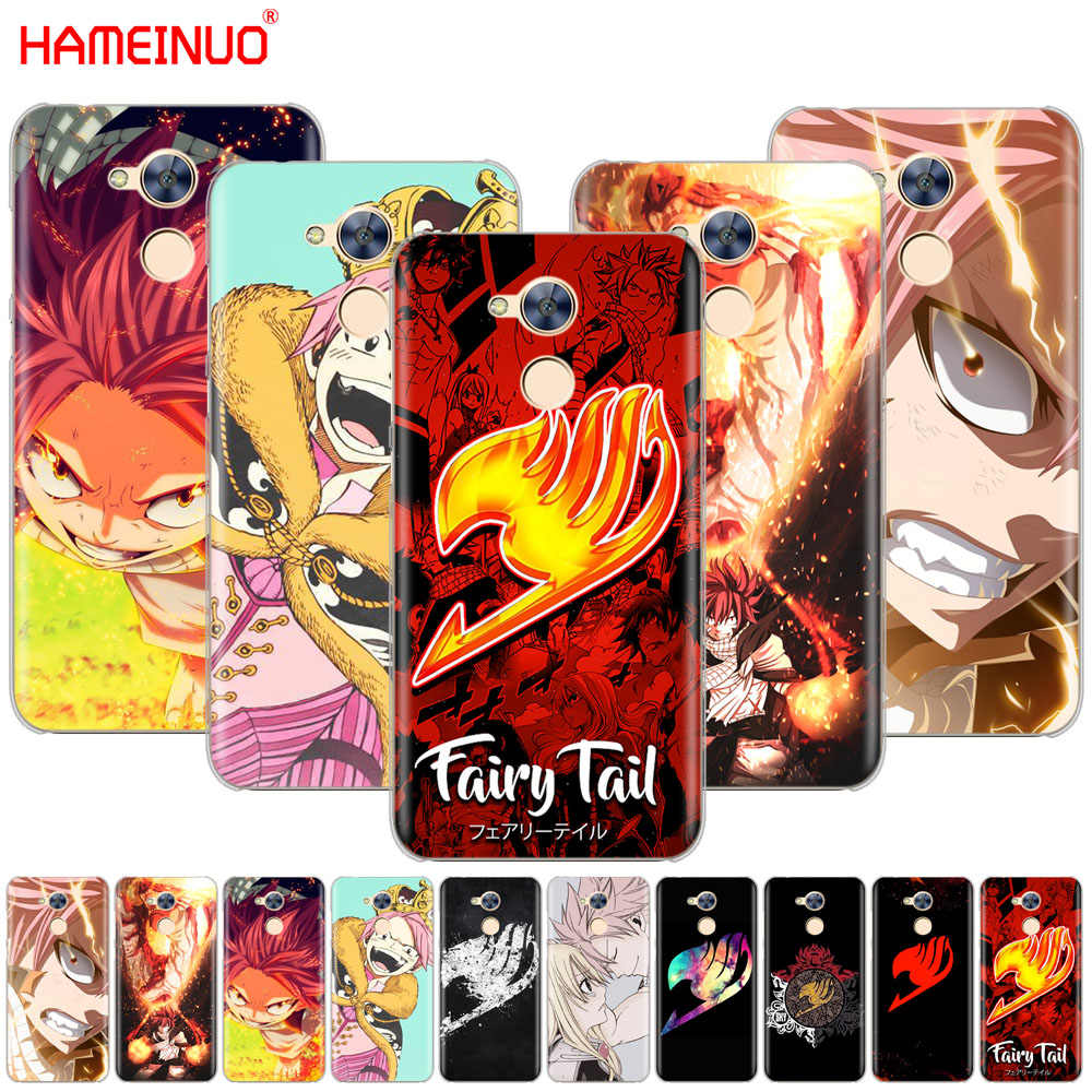 HAMEINUO Anime Fairy Tail Hot BloodCover phone Case for Huawei Honor 10 V10 4A 5A 6A 7A 6C 6X 7X 8 9 LITE