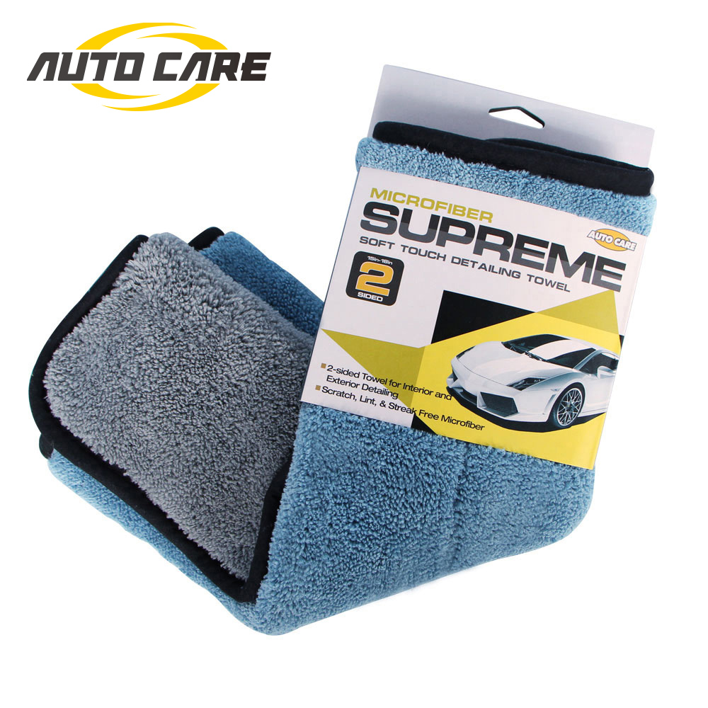 1pc 800gsm 45x38cm Microfiber Car Cleaning Cloth Super Thick Plush  Microfibre Detailing Wax Polishing Towel Car Care-in Sponges, Cloths & Brushes from Automobiles & Motorcycles on Aliexpress.com | Alibaba Group