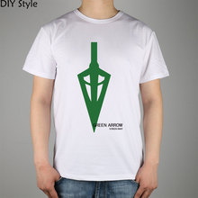 Poster Green Arrow Man Male short-sleeved t-shirt Cotton Lycra Top 10480 Fashion Brand T Shirt Men New Diy Style High Quality