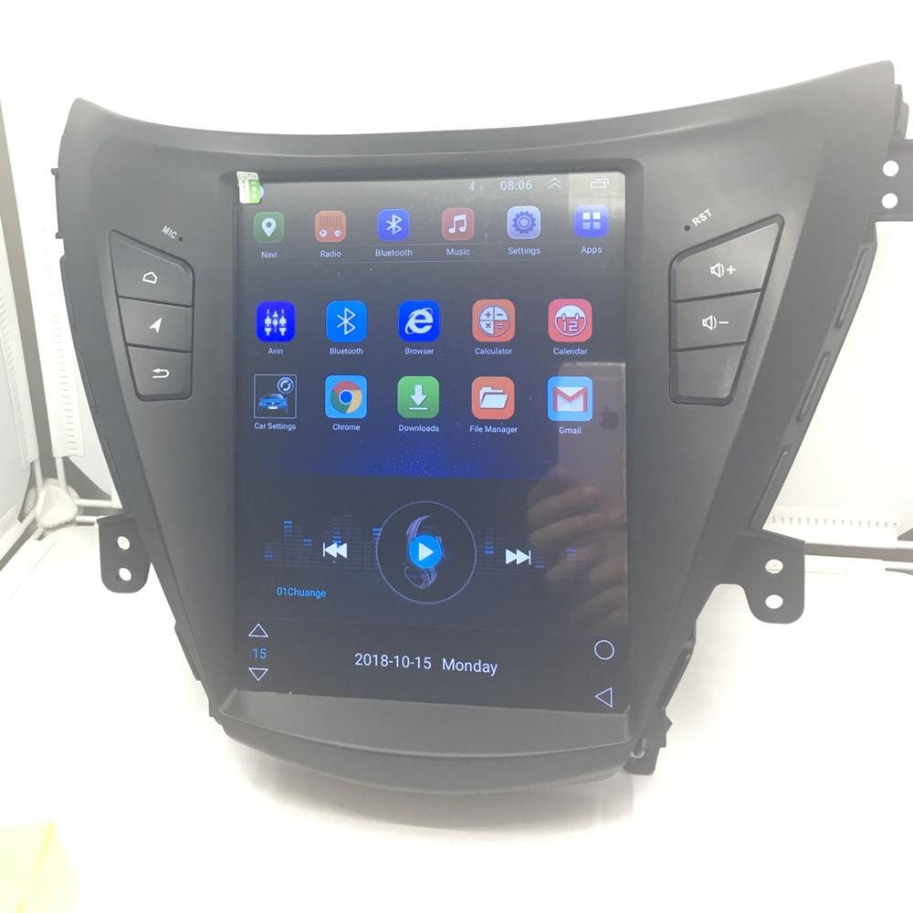 ZOYOSKII Android 6.0 10.4 pouces vetical écran voiture gps multimédia radio bluetooth lecteur de navigation pour Hyundai ELANTRA 2012-2015