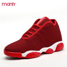 2016 Lovers Casual Shoes Lace Up Sport Basket For Men High Top Shoes Jordan Breathable Walking Man Superstar Trainers Zapato