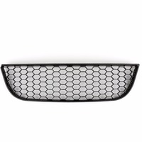 Areyourshop Car Front Center Lower Bumper Grille For VW Polo 9N3 GTI Black Honeycomb Style ABS
