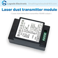 RS485 output of laser dust transmitter, PM1, PM2.5, PM10