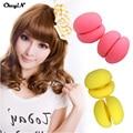6 PCS Soft Magic Hair Curlers Bendy Rollers Balls Sponge Foam Hair Care Curl Curling Styling DIY Hairdressing Tools Random Color