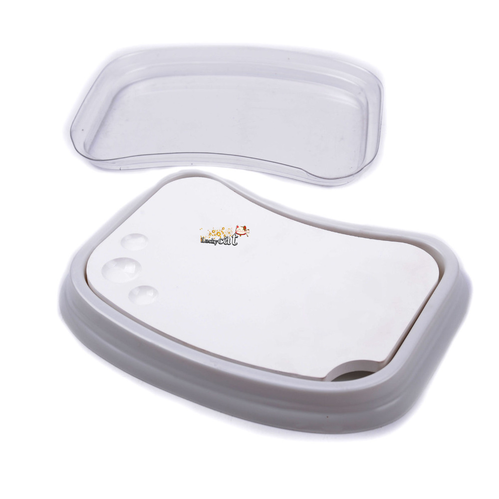 Dental Material Ceramic Palette Mixing Plate Stain Powder Mixing Tool Wet Tray-in Teeth Whitening from Beauty & Health    1