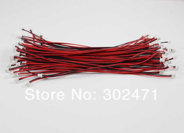 2-Pin plug met Draden Kabels 150MM. 2pin 1.25mm-1.25mm fk