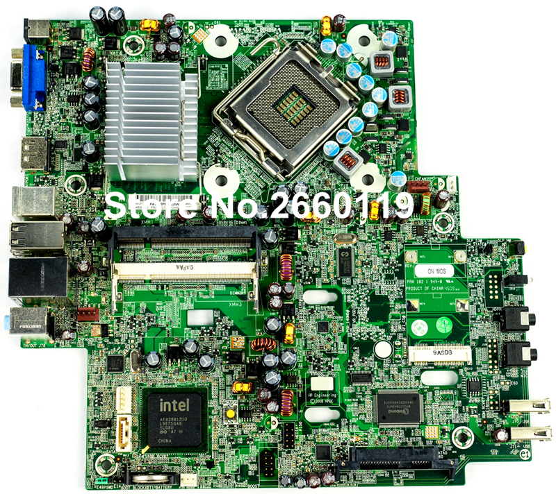 ФОТО Desktop motherboard for HP DC7900 LGA775 462433-001 460954-001 system mainboard fully tested and perfect quality