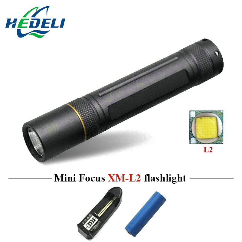 Lantern Rechargeable LED Flashlight CREE XM L T6 Torch Powerful Lanterna Tactical Hunting Flash Light Lamp