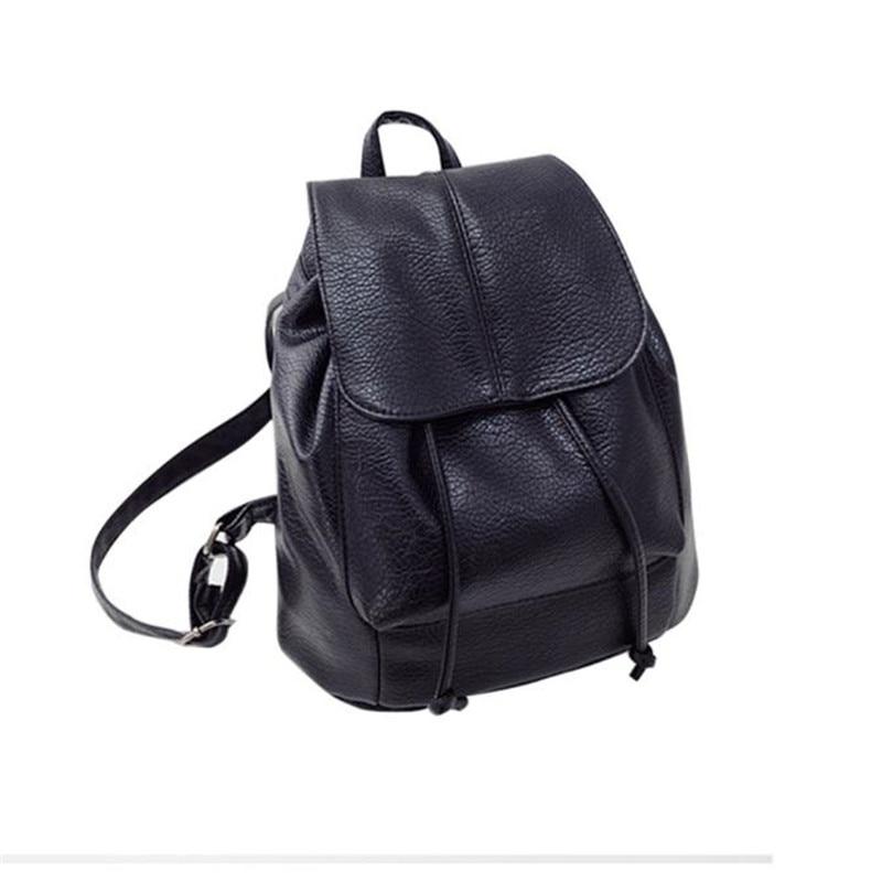 2018 New Arrive Fashion Casual Women Backpacks PU Leather Satchel Shoulder Backpack School Rucksack Bags Female Purse Bolsa
