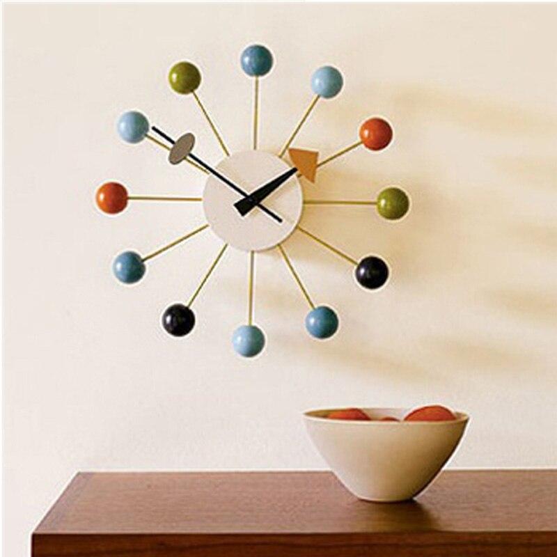 Lulu Decor Black Drop Wall Clock : Fashion crestive backdrop wall clock candy color