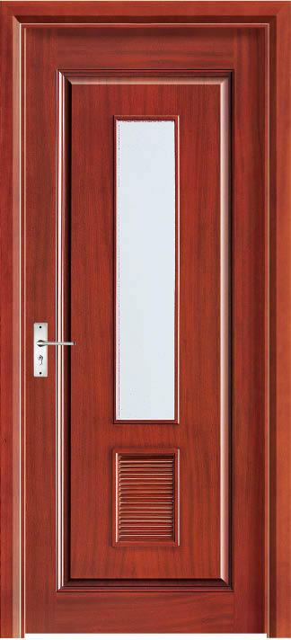 2015 Hot Sale Top Quality Red Oak Interior Solid Wood Door Enterior Wooden Door Hotel Interior Security Door Antique Villas Door