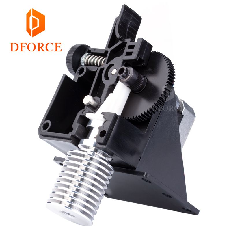 3D printer DFORCE titan Extruder for 3D printer reprap MK8 J-head bowden free shipping Optional i3 mounting bracket сумка coccinelle c5 yv3 15 37 01 012