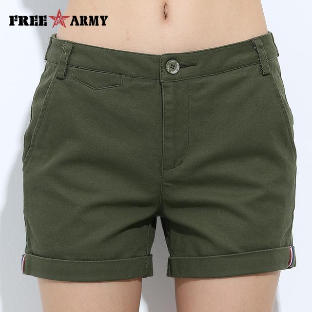 Shorts de mezclilla casual para mujer