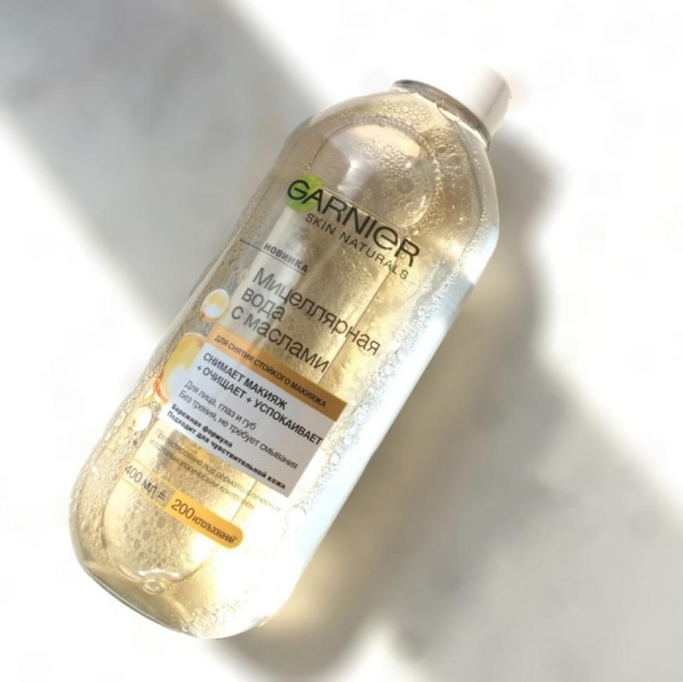 Thailand Original Garnier Skin Naturals Micellar Cleansing Bi Phase Water 400ml