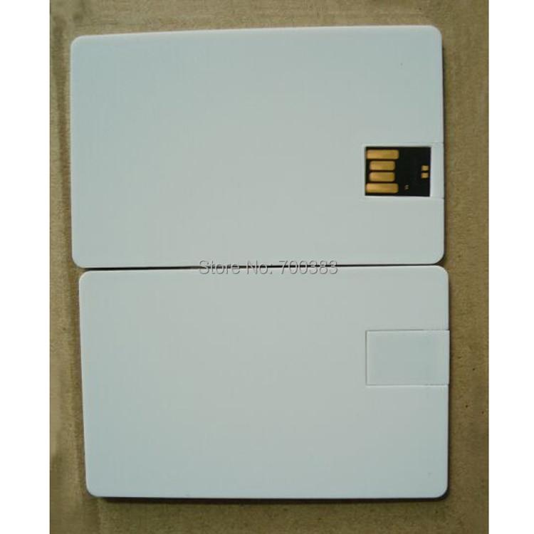 5 PCS USB2.0 No Printing Business card USB Memory Stick The Card ...