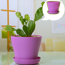 Get more info on the Colourful Mini Plastic Flower Pot Succulent Plant Flowerpot Home Office Decor