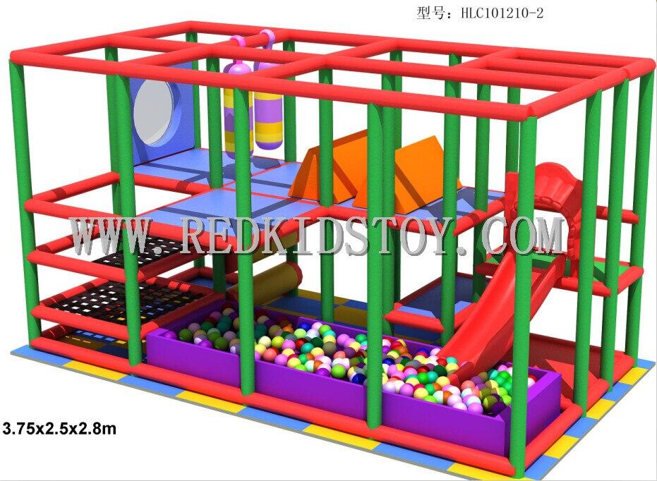 Aire de jeux intérieure douce écologique pour enfant en bas âge CE certifié HZ-0220 d'équipement de jeu d'intérieur de pépinière