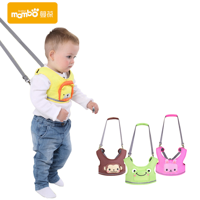 Harnesses & Leashes Mother & Kids Reliable Baby Sling Belt Wings Learning Walk Care Assistant With Baby Boy Girl Baby Walker Baby Sling B10