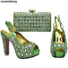 ffdcdf62060703 Nouveauté femmes chaussures et sacs à assortir ensemble vente chaussure et  sac assorti pour la fête nigériane mariage chaussure .