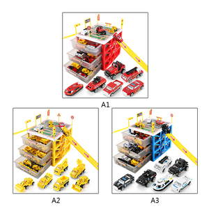 Image 3 - New Multi functional Mini Parking Lot Car Toy Drawer Kids Toys Storage Box Case Boys Novelty Gifts Children Party Games