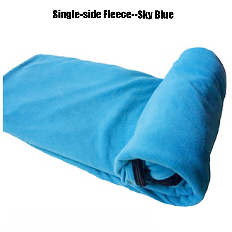488c38867c8 Tri Polar Ultralight Single Side Fleece Sleeping Bag Portable ...