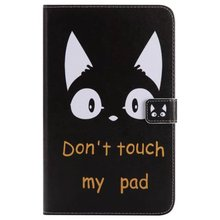 maosenguoji  3D Painted card function luxury fold Bracket cute Tablet Case For SAMSUNG T385 Smart wake up/sleep Function cover