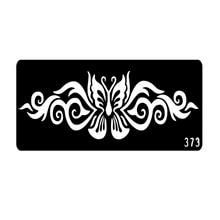Popular Henna Tattoo Stencils Airbrush Stencils Face Painting Stencils Plantillas Tatuajes T001-373 EE