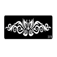 2016 Popular Henna Tattoo Stencils Airbrush Stencils Face Painting Stencils Plantillas Tatuajes T001-373 EE