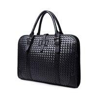 Maschio borsa in pelle portafoglio valigetta uomini messenger borse business borsa a tracolla moda borse da viaggio degli uomini