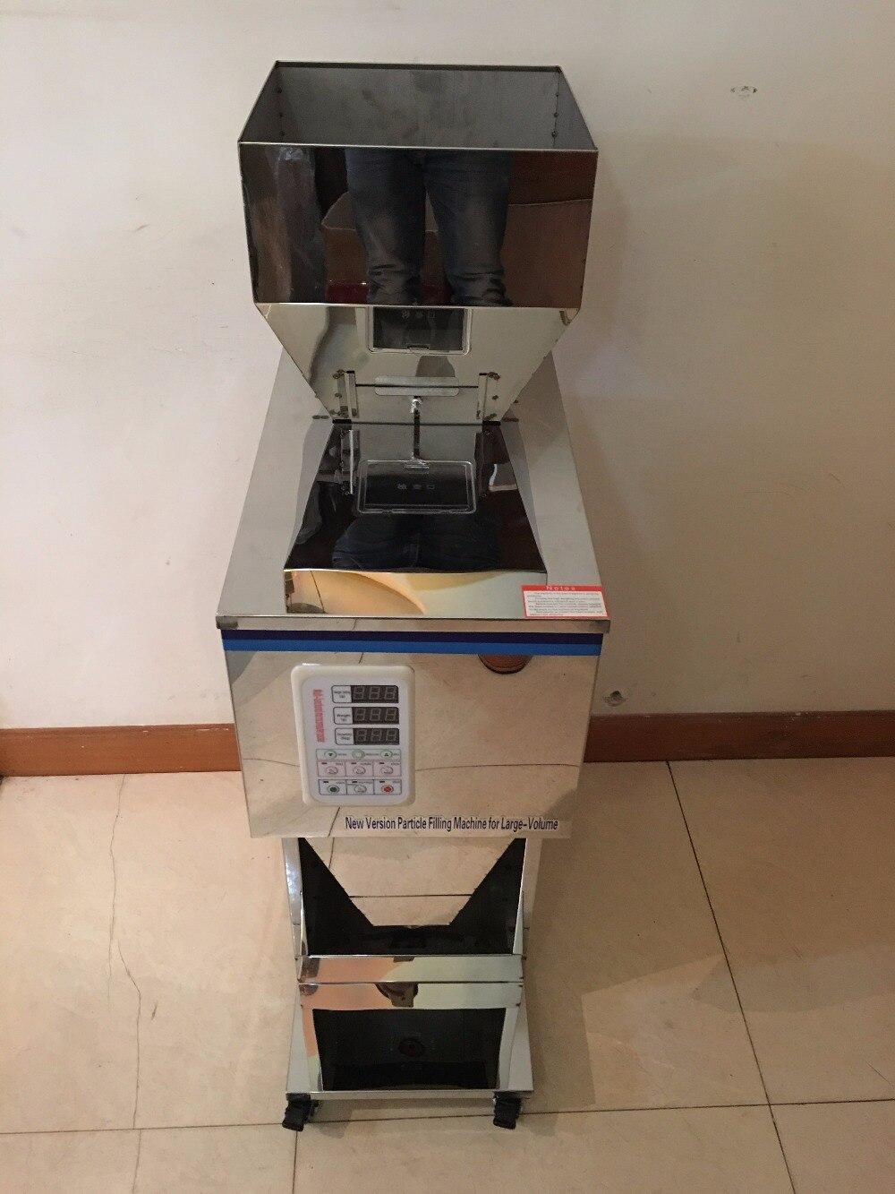 Automatic Food Weighing Packing Machine10-999g  Powder Granular Tea Hardware  Materials Filling Machine Double Vibrator Version