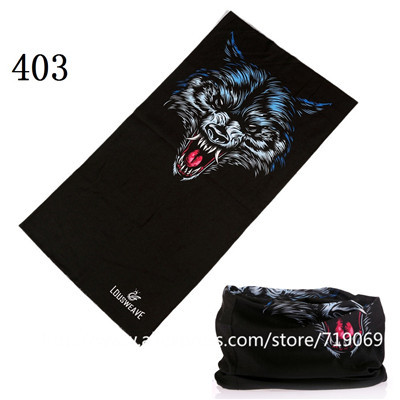 401-470 New Arrival Skull Bandana Tubular Versatility Motorcycle Scarf Headband Seamless Magic Scarf Sunscreen Muffler Head Wrap