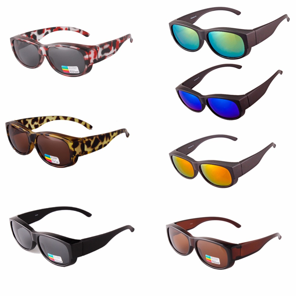 2017 FREE SHIPPING NEWEST Polarized Lens Covers Sunglasses Fit Over Prescription Glasses Adults sun glasses newest adults