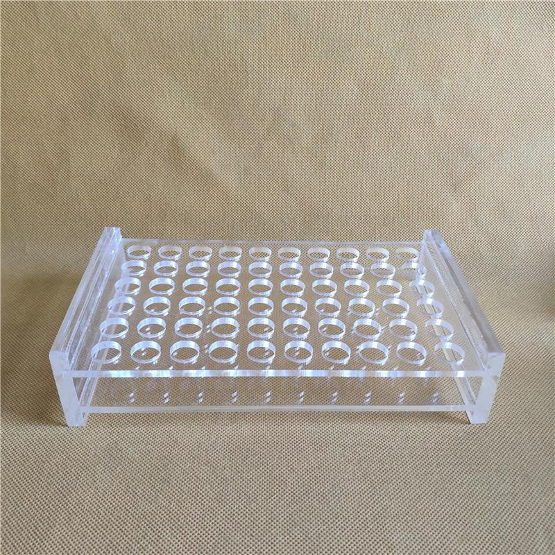 1.5ml/2ml Chromatographic Injection Bottle Holder Transparent Plexiglass Sample Bottle 2ml Holderheadspace Vials Rack