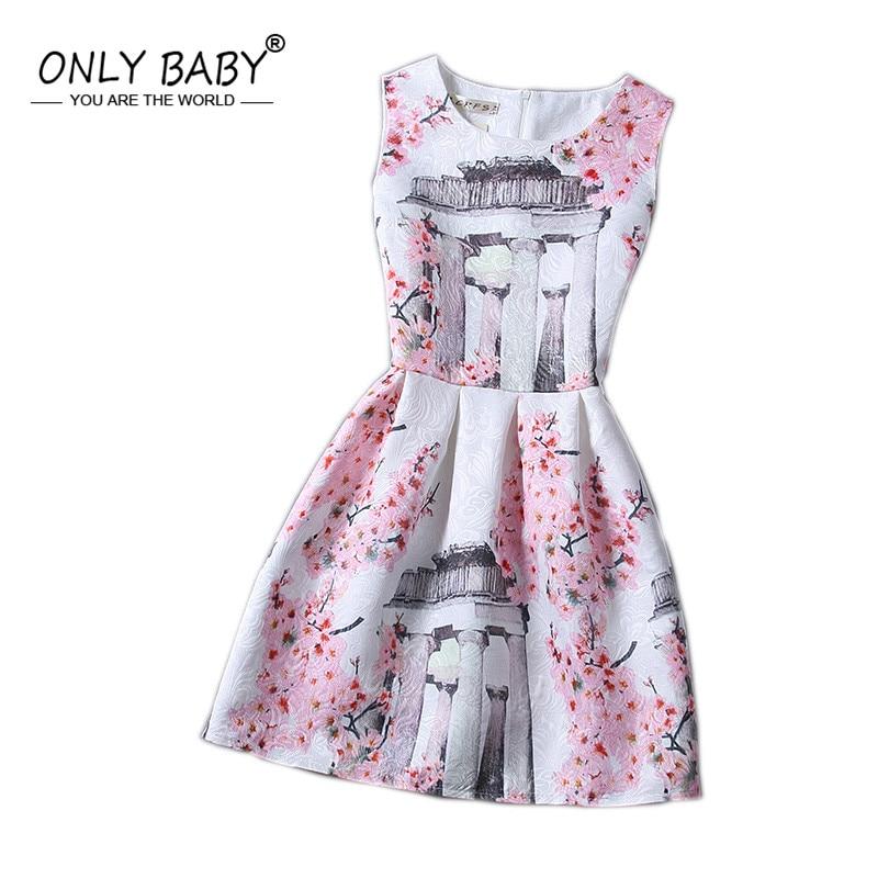 94155e326589 Spring Floral Print Party Teenage Girls Dresses Teenagers Dress Pr...