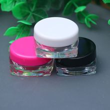 3g Mini Clear Cosmetic Cream Refillable Bottle Portable Ointment Container Travel Use Women Tool