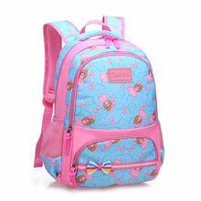 Kids Schoolbags for Girls Princess Orthopedic Backpack Waterproof Backpack Children Travel Bookbags Primary Escolar Mochila Sac
