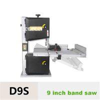 9 дюймов ленточнопильный станок D9S многофункциональный деревообрабатывающий ленточнопильных МАШИНА бытовой кривая пила Рабочий стол пилы