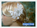 Elegant 2016 Luxury Short Bridal Veil Birdcage Lace Beads Pearls  Wedding Veil Stunning Women Wedding Accessory V126