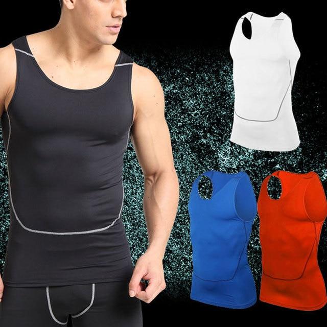 Men Running Vests Weight Loss Mens Body Building Shaper Vest Trimmer Tummy Shirt Hot Girdle breathable