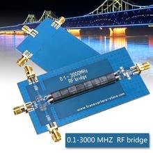 Новый RF мост для измерения КСВ 0,1-3000 МГц возврат потери мост мостовая схема антенный анализатор VHF VSWR возврат потери